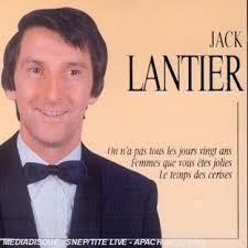 Jack LANTIER. récital le 5 Avril 1975 au PALACE - JACK%2BLANTIER