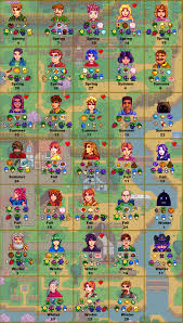 Stardew Valley Chart A Handy Gift Guide I Made Might Help Newbies Like Me
