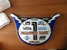 Design Your Own Bmx Plate Old School Haro Lighningbolt Style Bmx Number Plate Diamond