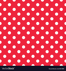 red and white polka dot background. Simple Background And Red White Polka Dot Background VectorStock
