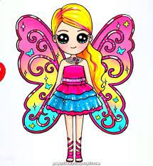 From n7.nextpng.com check out our barbie games, barbie activities and barbie videos. Creative And Great Barbie And The Key Fairy Cizimler Sevimli Karikatur Kelt Sanati