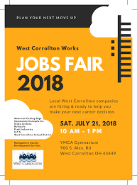Flyer Jobs Jobs Fair Flyer West Carrollton