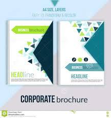 Professional Report Design Clean Brochure Design Annual Report Cover Template Magazine