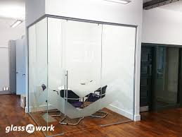 top hung frameless glass sliding doors