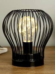 """<b>Светильник</b> настольный """"Идея лофт"""" LED 3AA черный 13,5х13 ..."""