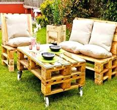 furniture made of pallets. Garden Furniture Made Out Of Pallets Tables Image Outdoor . Y