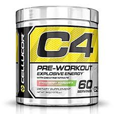 c4 fitness pre workout supplement for men and women enhance energy and focus