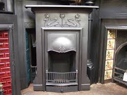 150mc art nouveau cast iron fireplace emsworth