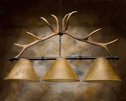 antler pool table light