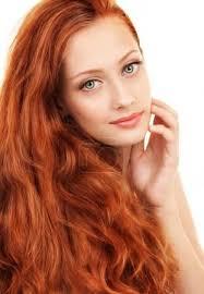 Fotografia Portrét Mladé ženy S červenými Vlasy A Zelené Oči