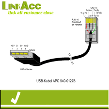 linkacc nc1 usb a male to rj50 10p10c for a pc cable buy usb a linkacc nc1 usb a male to rj50 10p10c for a pc cable
