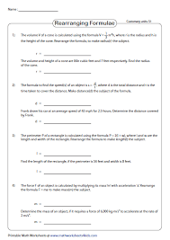 24 linear equation worksheets ideas