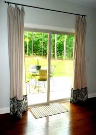 Interesting Modern Curtains For Sliding Glass Doors Door On Throughout Design Decorating