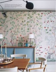 The problem with hand painted Chinoiserie wallpaper is that it is  OUTRAGEOUSLY expensive, but there