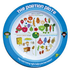 healthy food plate for kids.  Kids Childu0027s Portion Plate Melamine Plate With Colorful Cartoon Foods USDA  Guidelines Health Edco Throughout Healthy Food Plate For Kids T