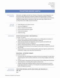 Volunteer Work On A Resume Itacams 8a38e20e4501