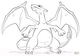 Small Picture Coloring Pages Mega Charizard Y Coloring Pages Redcabworcester