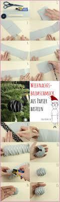 Weihnachtsbaumschmuck Aus Papier Frau Friemel