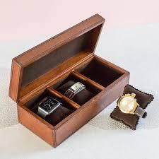 men glamorous watch box mens black leather display glass top endearing watch storage mens black leather case originalpersonalised ladies box large large size