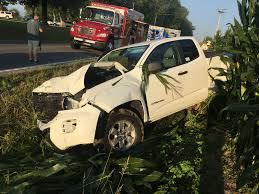 2 2018 photo shows the scene of a crash at the intersection of ky 286 and mckendree church road photo via the mcen county sheriffs department