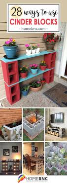 28 Practical, Functional, and Creative Ways to Use Cinder Blocks