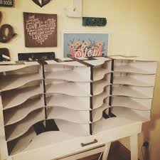Wooden Magazine Holder Ikea Student Mailboxes Using IKEA Flyt Magazine Holders And It Only 42