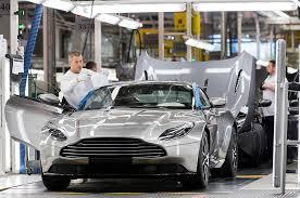 Aston Martin Stock Chart Aston Martin Production And Sales Volumes Hit Nine Year High