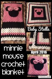 Minnie Mouse Crochet Blanket Pattern