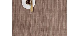 chilewich  table  placemats  runners  bamboo  chalk (rectangle)