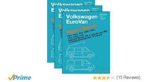 volkswagen eurovan repair manual 1992 1993 1994 1995 1996 volkswagen eurovan repair manual 1992 1993 1994 1995 1996 1997 1998 1999 three volume set volkswagen of america 9780837616810 amazon com books