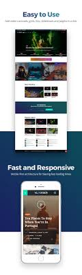 website template video vlogger professional video tutorials wordpress theme by