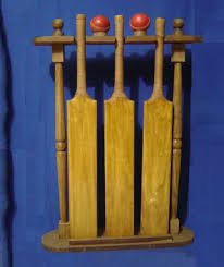 Cricket Bat Display Stand Adorable Geoffrey Retro Leather Cricket Bat Stand Buy Retro Cricket Bat