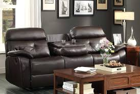 reclining sofa with drop down console lovely reclining sofa with drop down console about remodel living reclining sofa with drop down console