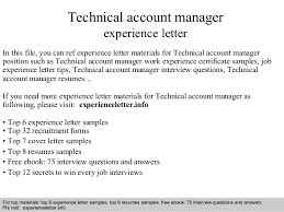 Interview questions and answers  free download/ pdf and ppt file Technical  account manager experience ...