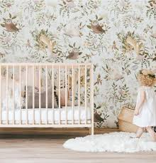 Behang Kinderkamer Babykamer Meisjeskamer Nursery Wallpaper