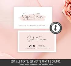 Buisness Card Online Printable Business Card Template Diy Business Card Instant Beauty Business Card Online Store Cards Calling Cards Business Stationery