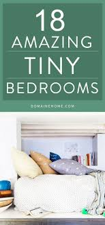 Small Spaces Bedroom 17 Best Images About Small Space Solutions On Pinterest Shelves