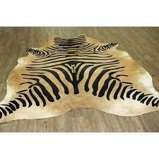 zebra brown rug zebra on caramel real natural cowhide rug area rugs brown and white zebra zebra brown rug