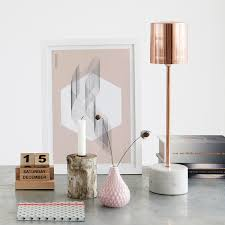 Lamp Tables For Bedroom New Rose Gold Marble Lamp Table Lamps Lighting French