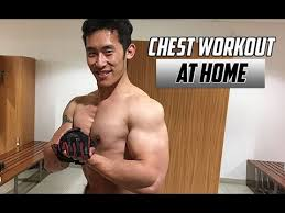 big chest at home 5 minute workout