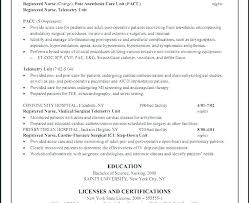 Telemetry Nurse Resume Magnificent Telemetry Nurse Resume Nursing Resumes Telemetry Nursing Resume