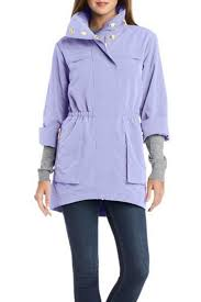 fillmore lavender anorak jacket front cropped image