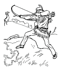 Indian Girl Coloring Page Ing Ing S Indian Boy And Girl Coloring