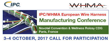 ipc whma european wire harness manufacturing conference the wire harness is playing an increasingly significant role in the integration of electronic systems in automotive aerospace and industrial