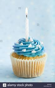 birthday cupcake candles blue. Fine Candles Birthday Cupcake  Stock Image In Cupcake Candles Blue T