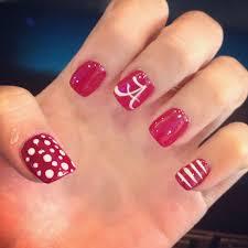 Alabama Nail Art Designs Alabama Nails Loveee Alabama Nails Alabama Nail Art Nails