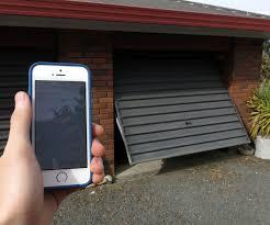 open garage door with iphoneGarage Doors  Gogogate Camera Garage Recording App Gogogate The