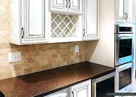 beige subway tile backsplash brown cabinets awesome white w29 brown