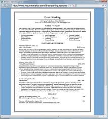Simple Resume Builder Free Extraordinary Resume Builder Free Download Lovely Free Simple Resume Template With