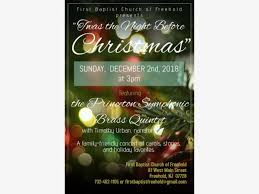 Christmas Concert Poster Dec 2 Christmas Concert Freehold Nj Patch